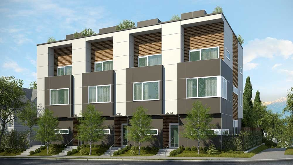 Exterior design for townhomes joy studio design gallery for Townhouse architecture designs